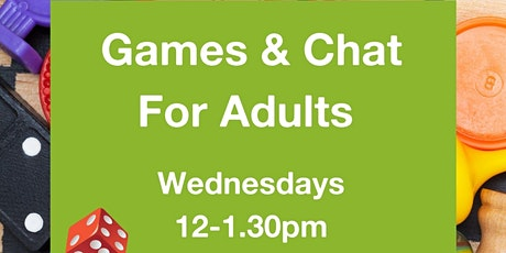 Games & Chat for Adults tickets