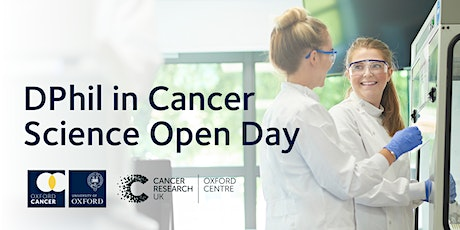 University of Oxford - DPhil in Cancer Science Open Day tickets