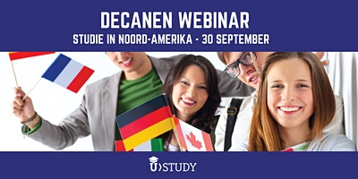 Decanen webinar: Studie (en sport) in Noord-Amerika