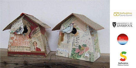 FREE CLandage Project 'Paper Bird House' adult workshop tickets