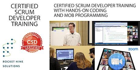 Paul Moore|Certified Scrum Developer-CSD|Online|November2021 tickets
