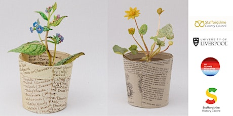 FREE CLandage Project 'Everlasting Paper Plants' adult workshop tickets