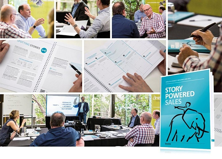Story-Powered Sales™ -  Americas and Europe   - By Invitation image