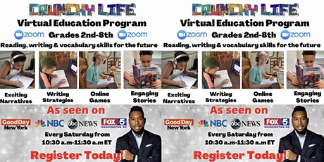 Crunchy Life Writing Camp (Ages 7-14) tickets