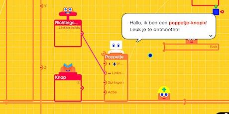 Introductieworkshop  Gamestudio met de Nintendo Switch tickets