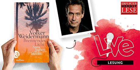 LESUNG: Volker Weidermann Tickets