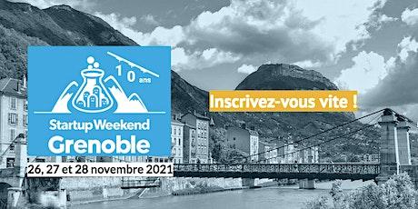 Startup Weekend Grenoble 2021 billets