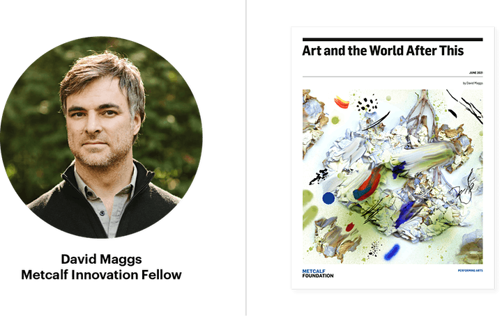 Report Launch & Discussion: Art and the World After This by David Maggs image