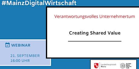 Gemeinwohl als Geschäftsmodell - Creating Shared Value Tickets