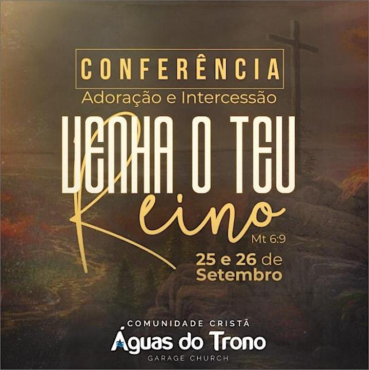 Imagem do evento CONFERÊNCIA PROFÉTICA DE ADORAÇÃO E INTERCESSÃO