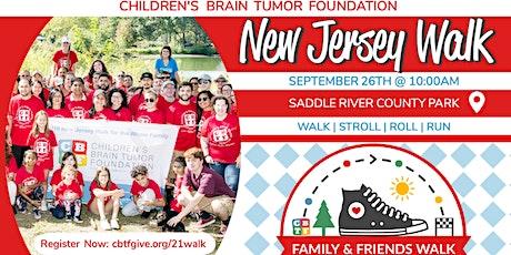 CBTF Family & Friends Walk to Fight Pediatric Brain Tumors    New Jersey tickets