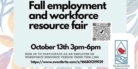 October 13th Employment and Workforce Resource Event @ FBGNC tickets