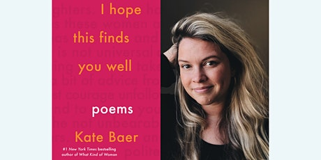 Kate Baer in-person book signing | I Hope This Finds You Well tickets