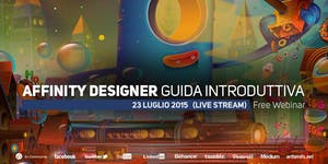 Guida introduttiva ad Affinity Designer (free webinar)