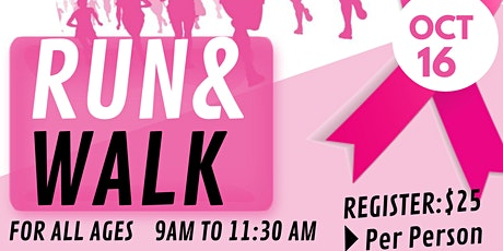 2021 Striding for a Cure Breast Cancer Walk/Run  Exchange Recreation Center tickets