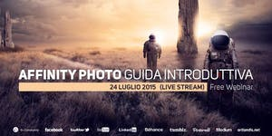 Guida ad Affinity Photo (free webinar)