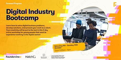 Digital Industry Bootcamp tickets