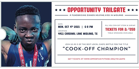 Opportunity Tailgate tickets