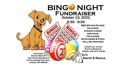 Bingo Night Fundraiser Fall 2021 tickets