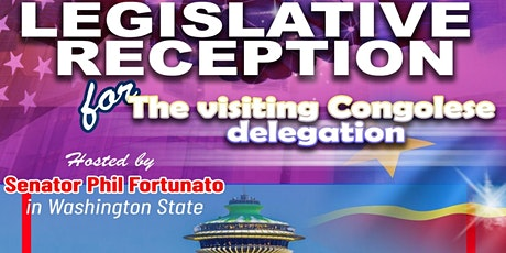 Legislative Reception with Visiting Congolese Delegation tickets
