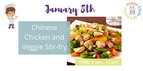 Kids (4-13) In-Person AM Cooking Class - Chinese Chicken Stir Fry tickets