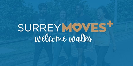 SurreyMoves+ Welcome Walk - Manor Park to The Mount tickets