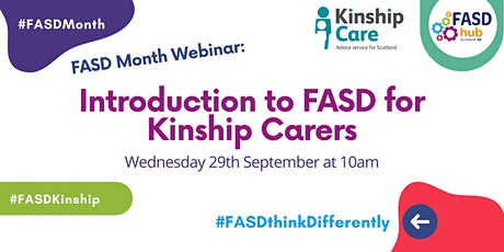 Introduction to FASD for Kinship Carers tickets