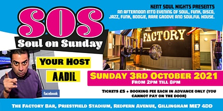 SOS - Soul On Sunday Launch Party tickets