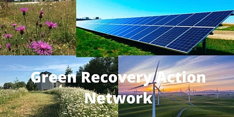 Green Recovery Action Network online meeting entradas