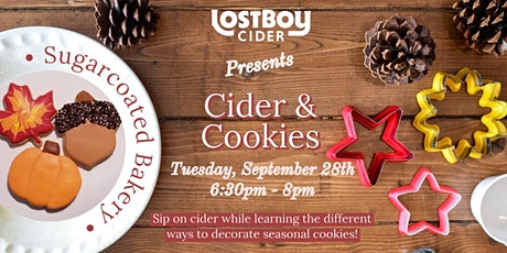 Cider & Cookie Decorating tickets