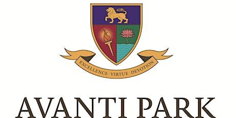 Avanti Park School Tour - 20th Oct 2021 p.m. tickets