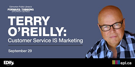 Customer Service IS Marketing with Terry O'Reilly tickets