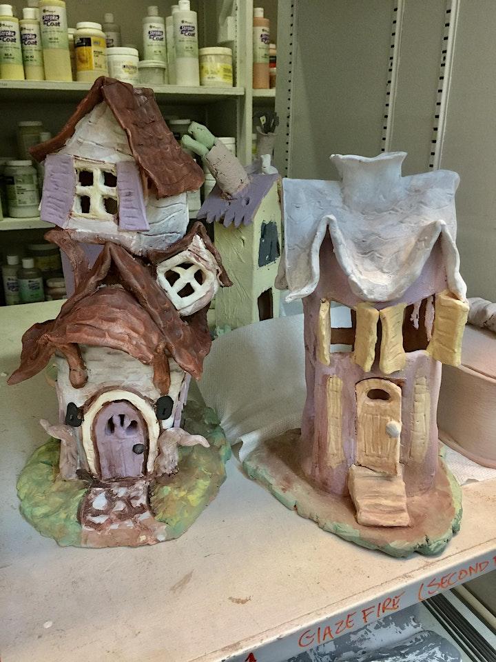 Make a Haunted House Luminary! image