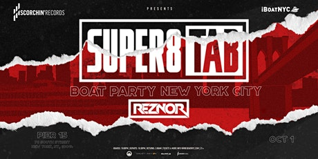Trance Music Boat Presents: SUPER8 & TAB & REZNOR Yacht Party NYC tickets
