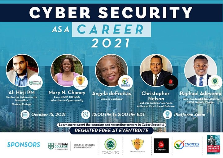 Cyber Security as a Career 2021 image