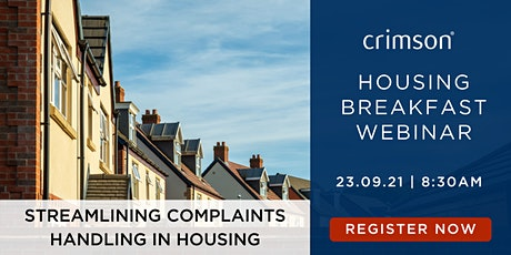 Housing Breakfast   Streamlining complaints handling in Housing Tickets