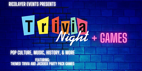 Game Night: Themed Trivia and Virtual Games tickets