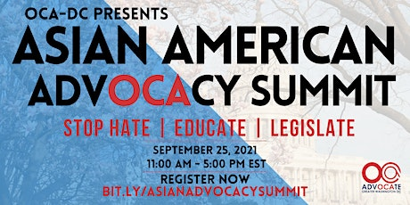 Asian American Advocacy Summit tickets