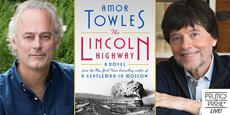 P&P Live! Amor Towles | THE LINCOLN HIGHWAY with Ken Burns tickets
