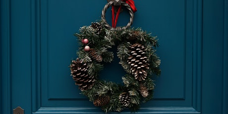 Decorative Wreath Making for Christmas Front Doors tickets