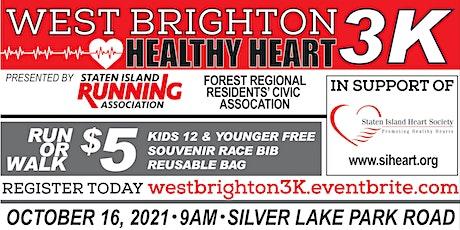 West Brighton Healthy Heart 3K Run & Walk tickets