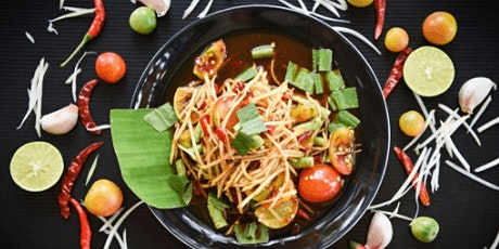 In-person class: Evening in Bangkok: Thai Curry & Papaya Salad(Los Angeles) tickets