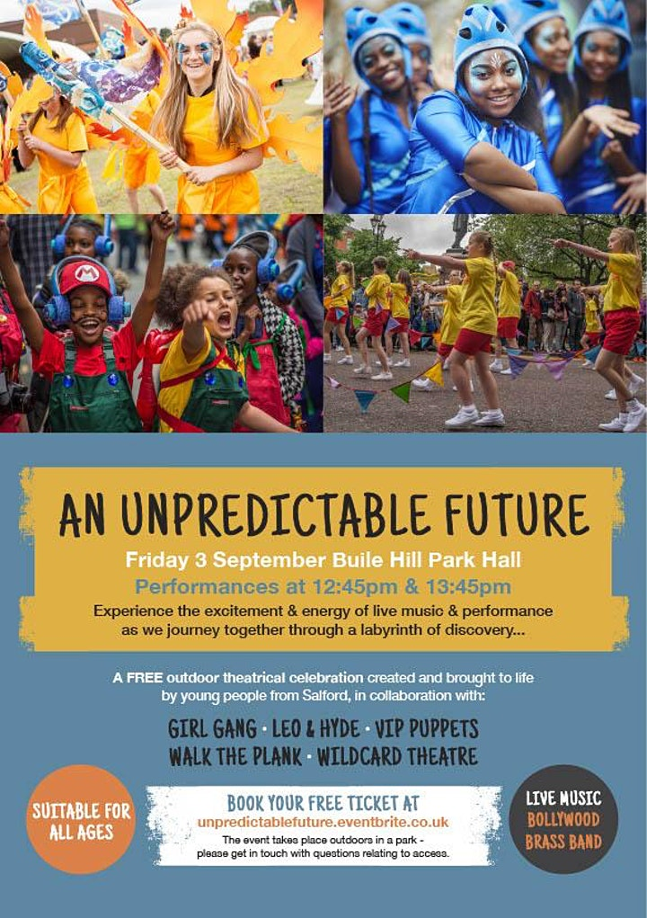 An Unpredictable Future: A celebration of young people in Salford image
