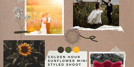 Golden Hour Sunflower Styled Shoot tickets