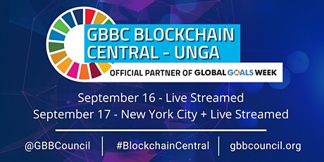 GBBC's Blockchain Central UNGA 2021 - Live Stream tickets