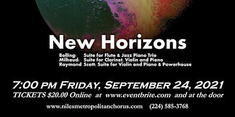 Live at SJB Presents: New Horizons tickets