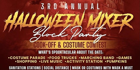 3rd Annual Halloween Mixer Block Party tickets