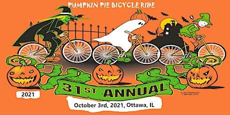 31st Annual Pumpkin Pie Bicycle Ride tickets