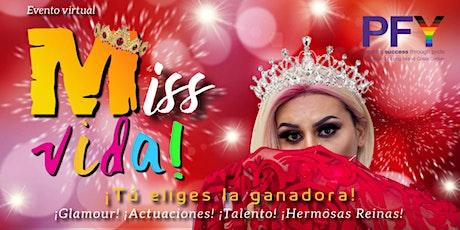 Miss Vida 2021 entradas