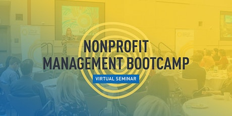 Nonprofit Management Bootcamp (2 sessions) tickets